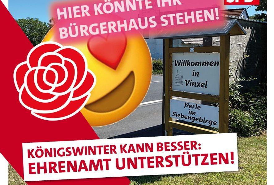 SPD Königswinter Bürgerhäuser Ehrenamt